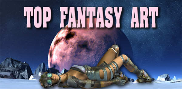 top fantasy art sexy